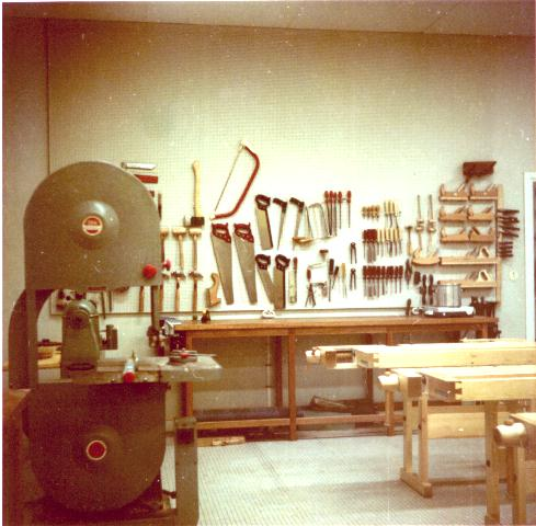 woodworking shop tools and equipment